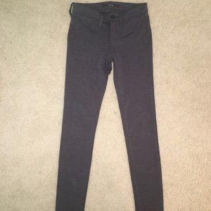 Gray, stretchy Joe's jeans